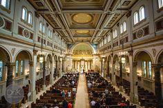 Holy Cross Catholic Church Minneapolis - Minneapolis Wedding Photographer | DnK Photography