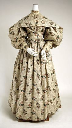 ensemble ca. 1831-1835 via The Costume Institute of The Metropolitan Museum of Art #historical #fashion