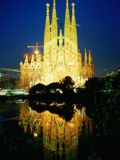 You cant argue with the Sagrada Familia