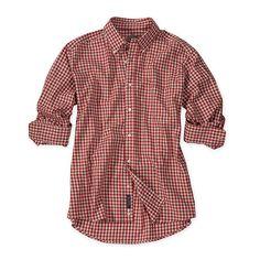 Bills Khakis Heathered Gingham Shirt made in the USA