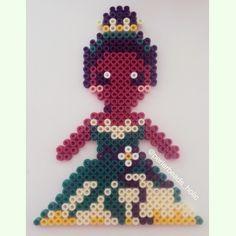 Tiana perler beads by perlerbeads_holic