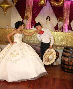 Mariachi Quinceanera Dress, Mexican Quinceanera Dresses, Quinceanera Planning, Quinceanera Themes, Sweet 16 Dresses, 15 Dresses, Quince Dresses Mexican, Charro Dresses, Vestido Charro