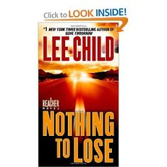 Jack Reacher #12, by Lee Child.  first Jack Reacher we read, so good!!!!