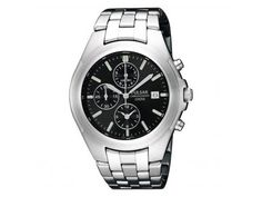 Pulsar Watch | Stainless Steel with Black Dial | From Carter's Jewel Chest | Mountain Home, AR |