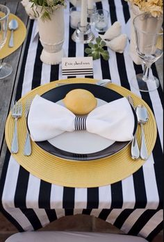 This cotton striped tablecloth or table runner is perfect for a beach or preppy wedding, baby shower or home decor! Nautical royal blue and white, black and white and Other colors available! #handmade #weddingdecor #babyshower #nautical #stripes #preppy #modern #etsy #etsyshop
