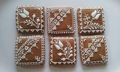 Dozen Hungarian honey or gingerbread cookies with by miszisz