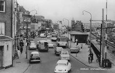 Stationsstraat in de zestiger jaren.