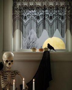 Heritage Lace | Halloween Gala Valance  - Tragic Beautiful buy online from Australia