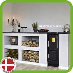 Josef Davidssons Viking 30 kitchen wood stove. Stoves For Sale, Cast Iron Stove, Kitchen Layout, Kitchen Wood, Range Cooker, Stove Fireplace, Compact Living, Modern Fireplace, Next At Home