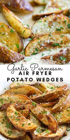 Air Fryer Oven Recipes, Air Frier Recipes, Air Fryer Dinner Recipes, Appetizer Recipes, Air Fryer Recipes Potatoes, Air Fry Potatoes, Air Fried Food, Vegetable Recipes, Healthy Recipes
