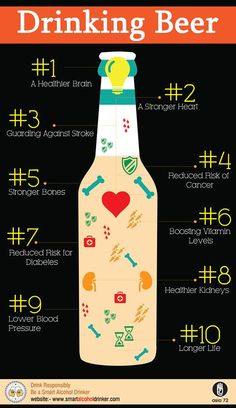 The #health #benefits of #beer:- 10 reasons why you should drink it! https://www.facebook.com/smartalcoholdrinker