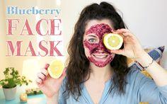 Homemade Blueberry FACE MASK | DIY