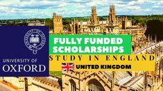 Study In England | Oxford University Scholarships 2021-2022 | Fully Funded | Careers Helpline Scholarships In Uk, Study In England, Oxford United, University Programs, Birmingham Uk, Career, Education, Art, Art Background