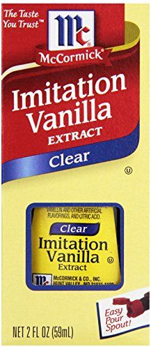 McCormick Clear Imitation Vanilla Extract 2 oz ** Check out this great product. (This is an affiliate link) Spices And Herbs, Baking Ingredients, Christmas Cookies, Gourmet Recipes, Vanilla, Beans, Image Link, Amazon, Food