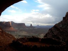"""Canyonlands National Park  """"To stare directly into the eyes of a place like this, to not look away, is nearly unbearable."""" -- Craig Childs"""