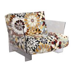 Replica Lissoni n Tamborini Pop Armchair clear base (3) - Place Furniture