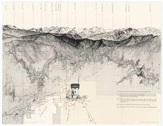 Due East over Shadequarter Mountain / matthew rangel