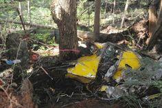 World War II plane crash found: Plane crash site has skeletal remains of 4 crew