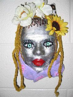 Mask Decoration Ideas Endearing Decorative Plaster Face Mask On Zebra Print  Masks  Pinterest Design Inspiration