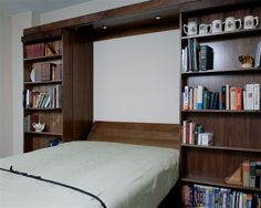 Adda Murphy Bed, with Drop-Down Table, into YOUR Craft Room Whether your hobby is crafts, quilting, scrapbooking, coin collecting or model airplanes you need to have a craft space / work surf…
