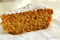 BIZCOCHO DE ZANAHORIA (THERMOMIX Y TRADICIONAL). Baking And Pastry, Biscuit Recipe, Sweet And Salty, Sin Gluten, Cakes And More, Carrot Cake, Banana Bread, Deserts, Muffin
