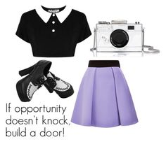 """"""""""" by martina-stevkovska ❤ liked on Polyvore featuring FAUSTO PUGLISI and Kate Spade"""