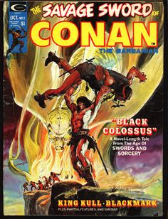 Marvel Comics Savage Sword of CONAN #2 Robert E. Howard & many more @QualityComicsAmerica