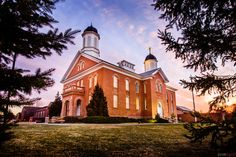 Vernal LDS Temple Photography