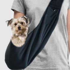Your place to buy and sell all things handmade Sling Carrier, Dog Carrier, Long Haired Miniature Dachshund, Dog Sling, Pet Carriers, Yorkie, Small Dogs, Long Hair Styles, Hand Made