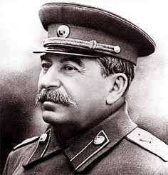 Josef Stalin was een belangrijke en grote deeel van de Koude Oorlog .