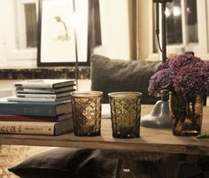 Hullaannu ja hurmaannu: Hentoa valoa, part IV Candle Holders, Vase, Candles, Home Decor, Decoration Home, Room Decor, Porta Velas, Flower Vases, Candy