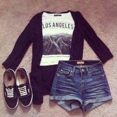 Daily New Fashion : Cute Teenage Outfits #teenageoutfits