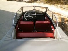 This 59 convertible it's a charmy car