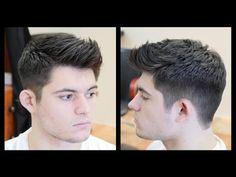 ▶ Men's Haircut Tutorial - Fohawk Haircut Fade - TheSalonGuy - YouTube