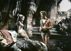 size: Photo: Ulysse Ulysses by Mario Camerini with Silvana Mangano and Kirk Douglas, 1954 (photo) : Artists Kirk Douglas, Nausicaa, Find Art, Framed Artwork, Mythology, Poster, Fictional Characters, Greeks, Films