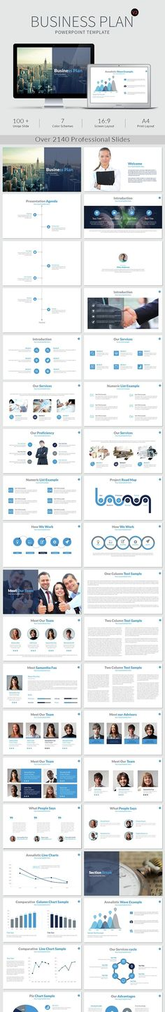 Marketing Plan - Keynote Presentation Template Pinterest