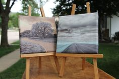 Two Infrared Landscape photographs on canvas. Open Road and The Path. Signed by artist. Home Decor. Source by jalinde - Infrared Photography, Cypress Trees, Photo Tree, Home Photo, Landscape Photographers, Great Photos, Feng Shui, Fine Art Photography, Paths
