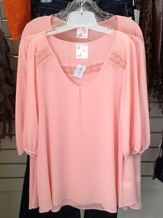 Cool coral blouses