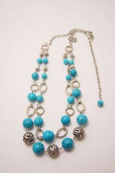 BIJOU925SALE2016 collar de turquesa turquesa collar de por Bijou925