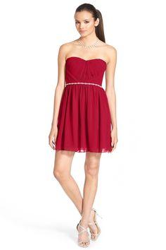 Flame Print Prom Dress
