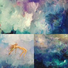 under the water, above the clouds Above The Clouds, Underwater, Paintings, Art, Art Background, Painting Art, Painting, Kunst, Gcse Art
