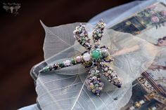 Dragonfly jewelry Unique gift for her One of от PurePearlBoutique
