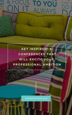 How to find immediate career #inspo at our favorite #GirlBoss conferences. #CareerAdvice #CreateCultivate @hercampus #HustleSummit @goblogsocial @bosseduporg #Blogger #Freelance #Hustle #LeanIn