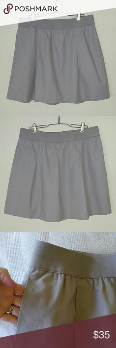 """J. Crew Factory Skirt NWT! This cute skirt is clay colored and it has pockets and an elastic waistband! Top to bottom measures 17-3/4"""" Thanks for looking! J. Crew Skirts Mini"""