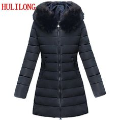 Tymhgt Men Warm Down Jacket Faux Fur Collar Outwear Solid Thick Quilted Coat