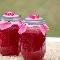 Watermelon Jelly -   Sweet and Smooth, enjoy it in the cold depths of winter to immediately be brought back to days of sand & flip flops, the sweet taste of summer