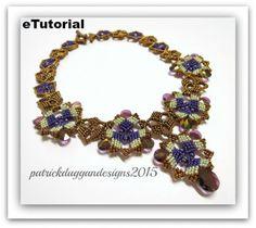 Pansyface eTutorial - original necklace design by patrickduggandesigns
