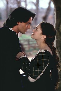 Dougray Scott (Prince Henry) & Drew Barrymore (Danielle) - EverAfter directed by Andy Tennant (1998)