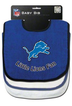 Detroit Lions Three Bib Set