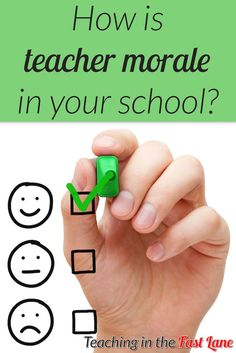Is teacher morale at your school at an all time low? Try these 15 tips to improve morale and liven up your school community! Earn Money From Home, Way To Make Money, Make Money Online, Teacher Morale, Staff Morale, Work From Home Opportunities, Work From Home Jobs, Morale Boosters, Survey Sites That Pay